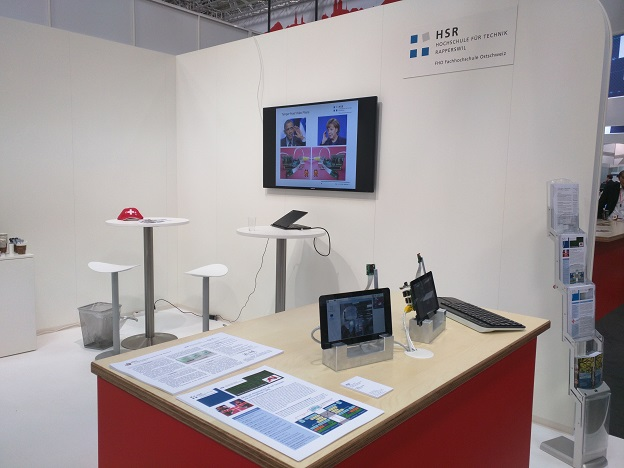 Booth at CeBIT 2016